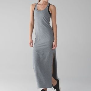 Lululemon Grey Refresh Racer Maxi Dress Size 4